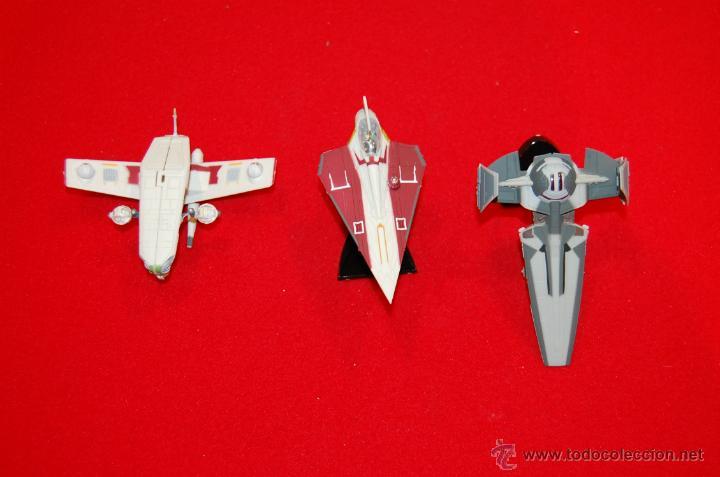 Maquetas: Lote de tres maquetas de naves de STAR WARS. - Foto 2 - 43421890