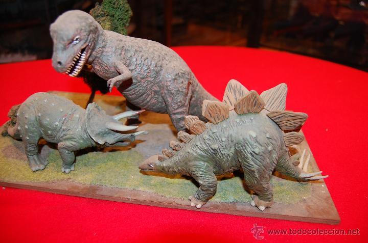 Maquetas: Diorama con dinosaurios, de la casa Airfix, de plástico. - Foto 4 - 43455885