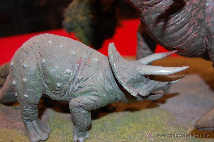 Maquetas: Diorama con dinosaurios, de la casa Airfix, de plástico. - Foto 6 - 43455885