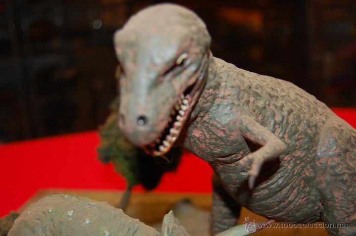 Maquetas: Diorama con dinosaurios, de la casa Airfix, de plástico. - Foto 7 - 43455885