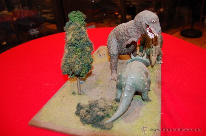 Maquetas: Diorama con dinosaurios, de la casa Airfix, de plástico. - Foto 8 - 43455885