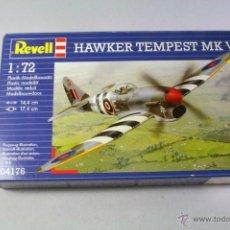 Maquetas: REVELL #04176. ESCALA 1/72. AVIÓN HAWKER TEMPEST MK V. Lote 43661050