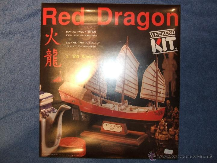 Kit Barco Red Dragon 1100 Artesania Latina R Sold Through