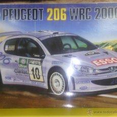 Maquetas: PEUGEOT 206 WRC 2000 MARCA AIRFIX NUEVO PRECINTADO. Lote 44905650
