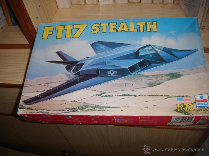 F-117 STEALTH, ESCI 1/72 (Juguetes - Modelismo y Radio Control - Maquetas - Aviones y Helicópteros)