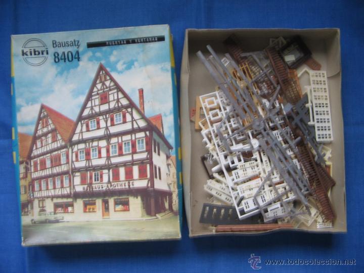 Maquetas: Kibri Bausatz. 8404. Caja + piezas. Lo que se ve en las fotos.Marcado Puertas y Ventanas - Foto 4 - 40028034