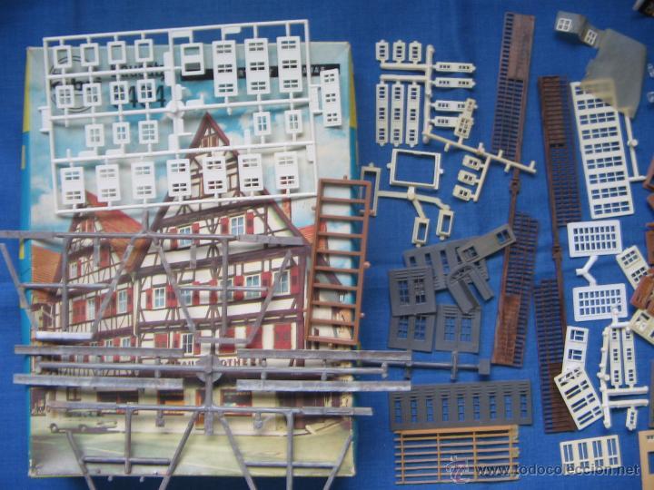 Maquetas: Kibri Bausatz. 8404. Caja + piezas. Lo que se ve en las fotos.Marcado Puertas y Ventanas - Foto 5 - 40028034