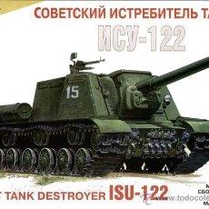 Maquetas: ZVEZDA - SOVIET TANK DESTROYER ISU-122 1/35. Lote 107938907
