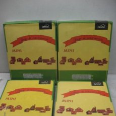 Maquetas: DOMUS MODELO MINI 6, 7, 8 Y 9 - CONSTRUCCIONES DE CASAS CON LADRILLOS. Lote 45240434