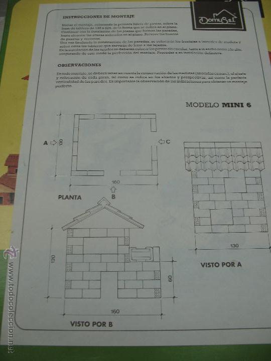 Maquetas: Domus Modelo Mini 6, 7, 8 y 9 - Construcciones de casas con ladrillos - Foto 5 - 45240434