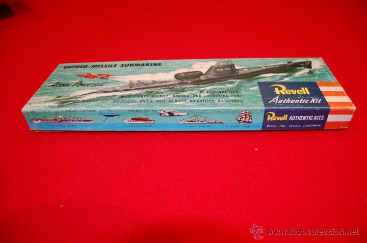 Maquetas: Antigua maqueta del submarino U.S.S. Nautilus, de Revell - Foto 3 - 45372346
