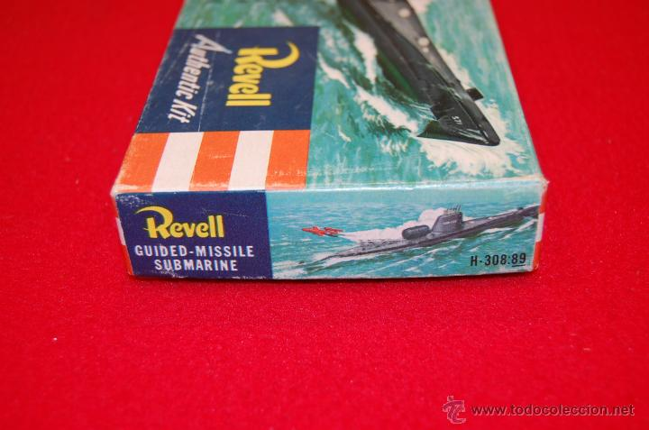 Maquetas: Antigua maqueta del submarino U.S.S. Nautilus, de Revell - Foto 4 - 45372346