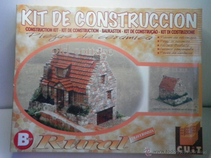 KIT DE CONSTRUCCION RURAL DE BTOYS - PIEZAS DE CERAMICA (Juguetes - Modelismo y Radiocontrol - Maquetas - Construcciones)
