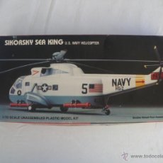 Maquetas: MAQUETA DEL HELICOPTERO SIKORSKY SEA KING ESCALA 1:72 AÑO 85 PARA MONTAR.. Lote 45595335