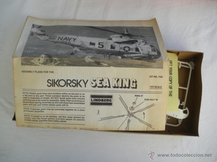 Maquetas: Maqueta del helicoptero Sikorsky Sea king escala 1:72 año 85 para montar. - Foto 3 - 45595335