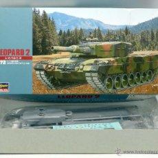 Maquettes: HOBBY KITS HASEGAWA TANQUE LEOPARD 2 ESCALA 1/72 NUEVO PARA MONTAR. Lote 138778222