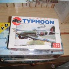 Maquetas: HAWKER TYPHOON. AIRFIX 1/72. Lote 45728935
