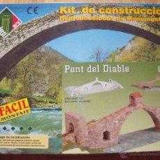 Maquetas: AEDES- PUENTE DEL DIABLO REF. 1202. Lote 107205676