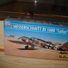 Maquetas: MESSERSCHMITT BF-108B TAIFUN, HELLER 1/72. Lote 46219653