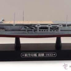 Maquettes: PORTAAVIONES RYUJO - JAPÓN 1933 - EAGLEMOSS. Lote 216834675