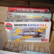 Maquetas: BREWSTER BUFFALO F2A, AIRFIX 1/72. Lote 56519728