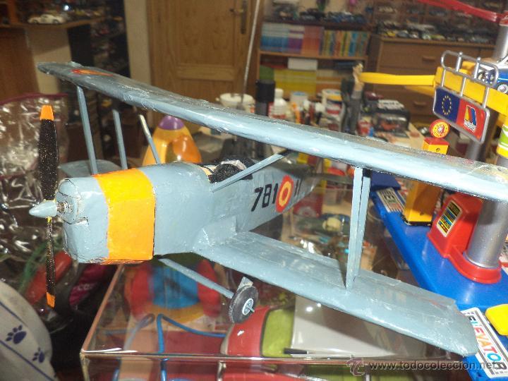 Maquetas: Avión Biplano de entrenamiento Bucker - BU131- E3b,Ejército del Aire España Base de Armilla - Foto 3 - 46538640