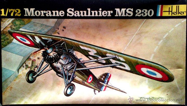 MORANE-SAULNIER M.S.230 (GUERRA CIVIL) 1/72 HELLER (Juguetes - Modelismo y Radio Control - Maquetas - Aviones y Helicópteros)