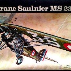 Maquetas: MORANE-SAULNIER M.S.230 (GUERRA CIVIL) 1/72 HELLER. Lote 46966177