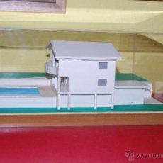 Maquetas: MAQUETA CASA - URNA METACRILATO - CHALET - PROYECTO ARQUITECTÓNICO - ARQUITECTURA - CONSTRUCCIÓN. Lote 47186058