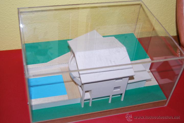 Maquetas: MAQUETA CASA - URNA METACRILATO - CHALET - PROYECTO ARQUITECTÓNICO - ARQUITECTURA - CONSTRUCCIÓN - Foto 2 - 47186058