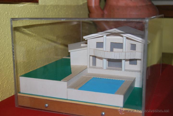 Maquetas: MAQUETA CASA - URNA METACRILATO - CHALET - PROYECTO ARQUITECTÓNICO - ARQUITECTURA - CONSTRUCCIÓN - Foto 3 - 47186058