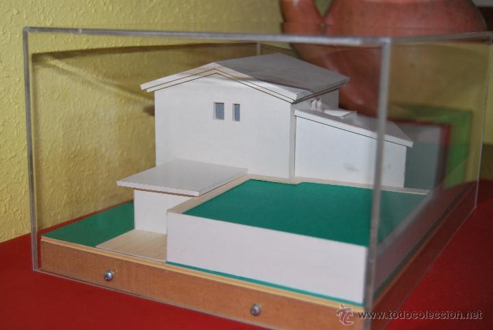 Maquetas: MAQUETA CASA - URNA METACRILATO - CHALET - PROYECTO ARQUITECTÓNICO - ARQUITECTURA - CONSTRUCCIÓN - Foto 5 - 47186058