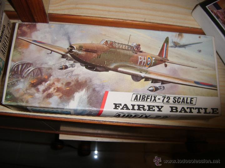 FAIREY BATTLE, AIRFIX 72 (Juguetes - Modelismo y Radio Control - Maquetas - Aviones y Helicópteros)