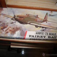 Maquetas: FAIREY BATTLE, AIRFIX 72. Lote 47203635