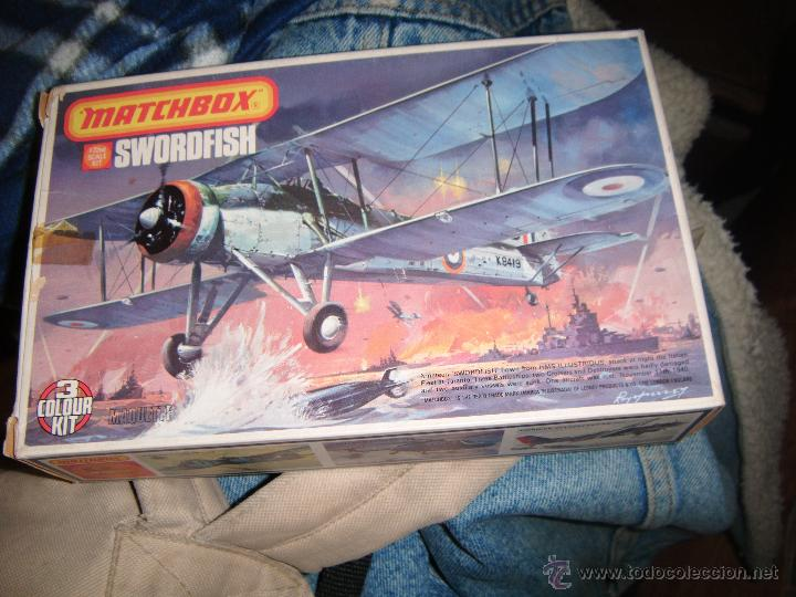 FAIREY SWORDFISH, MATCHBOX 1/72 (Juguetes - Modelismo y Radio Control - Maquetas - Aviones y Helicópteros)