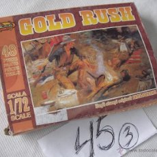 Maquetas: ANTIGUA MAQUETA DIORAMA DEL OESTE - GOLD RUSH - NUEVA SIN USAR. Lote 47367757