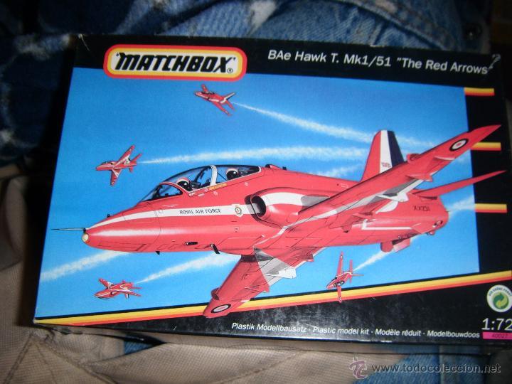 BAE HAWK T MK I/ 51, MATCHBOX 1/72 (Juguetes - Modelismo y Radio Control - Maquetas - Aviones y Helicópteros)