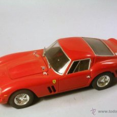 Maquetas: REVELL. ESCALA 1/24. FERRARI 250 GTO. MAQUETA PLÁSTICO MONTADA Y PINTADA. Lote 47547345