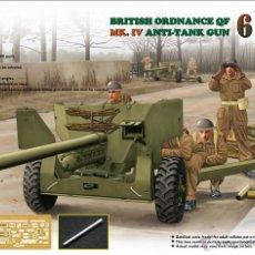 Maquetas: RV35018 ORDNANCE QF 6 PDR MK.IV ANTI-TANK GUN + MK.1A CARRIAGE ESCALA 1.35. Lote 47588294