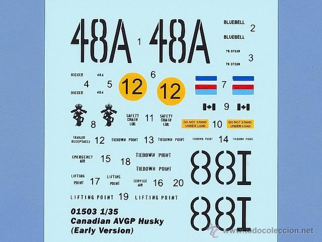 Maquetas: Trumpeter 01503 Canadian AVGP Husky Escala 1/35 - Foto 13 - 47764674