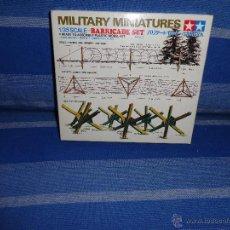 Maquetas: TAMIYA - MILITARY MINIATURES 1/35 SCALE - BARRICADE SET- 111-1. Lote 47824719