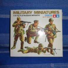 Maquetas: TAMIYA - MILITARY MINIATURES 1/35 SCALE - RUSSIAN INFANTRY- 111-1. Lote 47824780