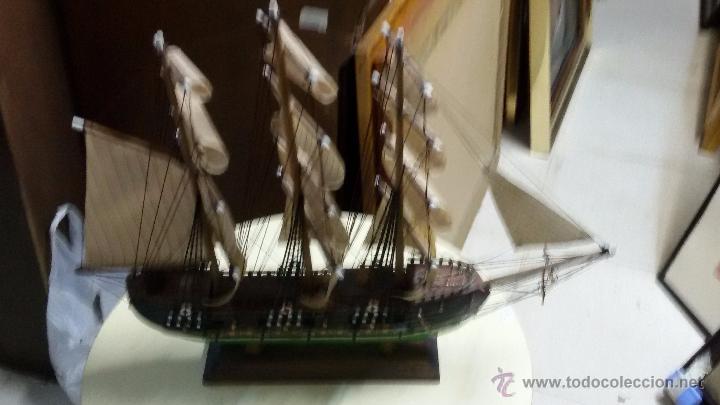 ANTIGUA MAQUETA DE BARCO (Juguetes - Modelismo y Radiocontrol - Maquetas - Barcos)