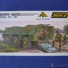 Maquetas: BMR-600 ESC. 1:87 DE NIMIX . Lote 102571074