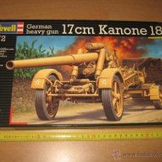Maquetas: GERMAN HEAVY GUN 17CM KANONE 18 - REVELL NUEVO. Lote 250286495