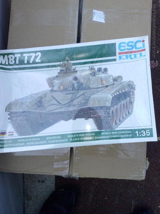 MBT T-72, ESCI / ERTL 1/35 (Juguetes - Modelismo y Radiocontrol - Maquetas - Militar)