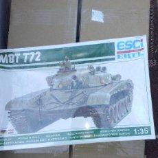 Maquetas: MBT T-72, ESCI / ERTL 1/35. Lote 48850895