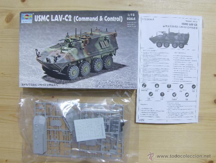 Maquetas: MAQUETA TRUMPETER, USMC LAV-C2 (Command & Control), Escala 1/72, REF 07270 - Foto 2 - 49118553