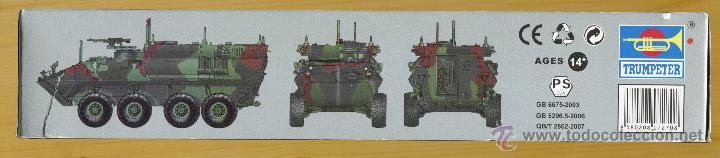 Maquetas: MAQUETA TRUMPETER, USMC LAV-C2 (Command & Control), Escala 1/72, REF 07270 - Foto 3 - 49118553