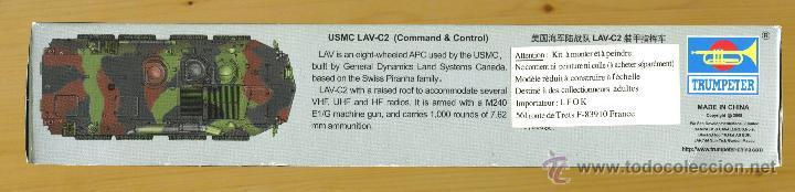 Maquetas: MAQUETA TRUMPETER, USMC LAV-C2 (Command & Control), Escala 1/72, REF 07270 - Foto 4 - 49118553